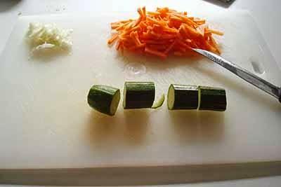 Riso basmati con verdure