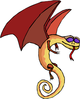 Fantasy Dragon Snake Free Clipart