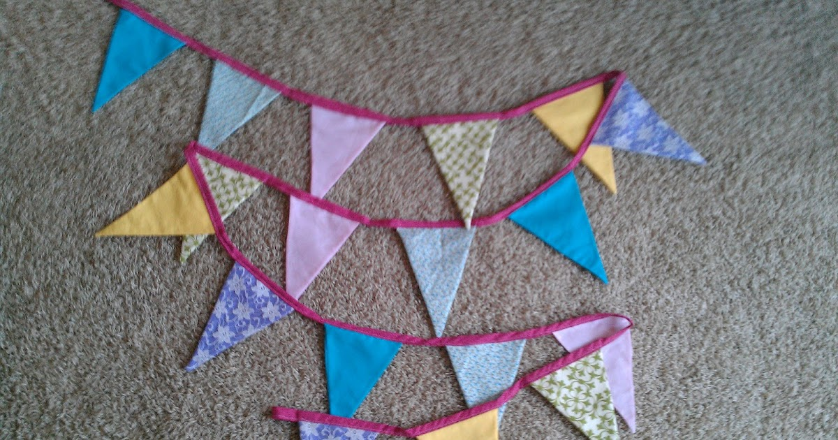 couple of creative sisters: Bunting for Baby