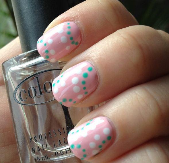 Imágenes de uñas pintadas fáciles ~ Belleza y Peinados