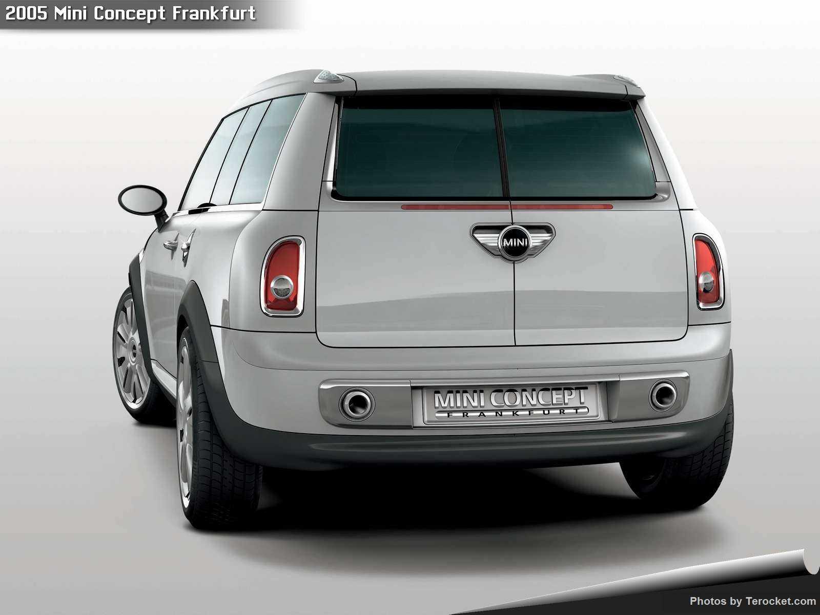 Hình ảnh xe ô tô Mini Concept Frankfurt 2005 & nội ngoại thất
