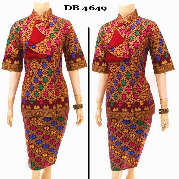 Model Baju Dress Batik
