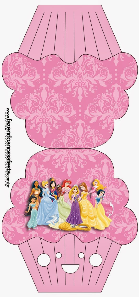 Disney Princess Party: Free Printable Party Invitations. | Is it ...