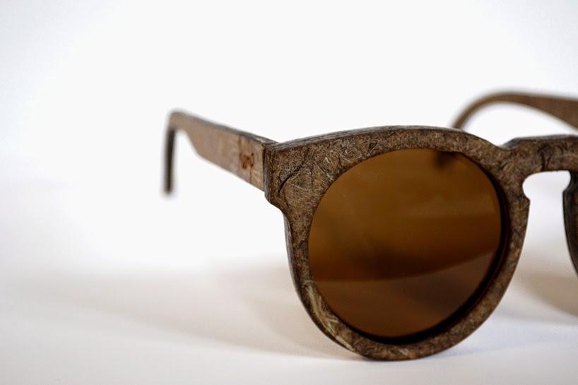 Gafas de Sol de Cáñamo y Fibra Lino, Diseño Ecoresponsable para Accesorios De Moda