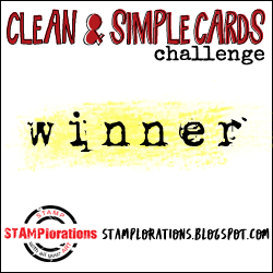 April 2021 - Clean and Simple Challenge