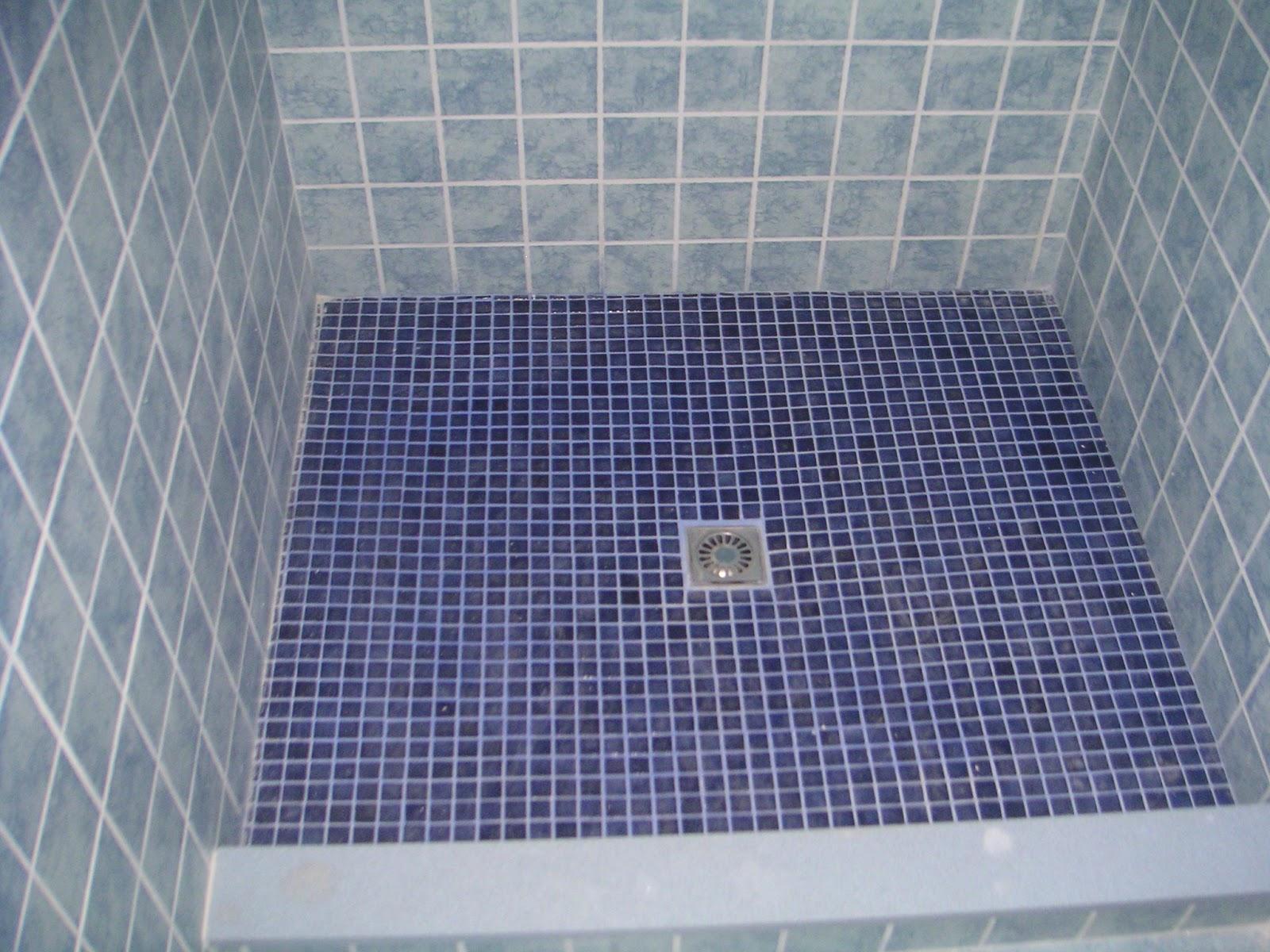 Baños Duchas Gresite:El baño se hizo completamente nuevoUn plato de ducha de gresite