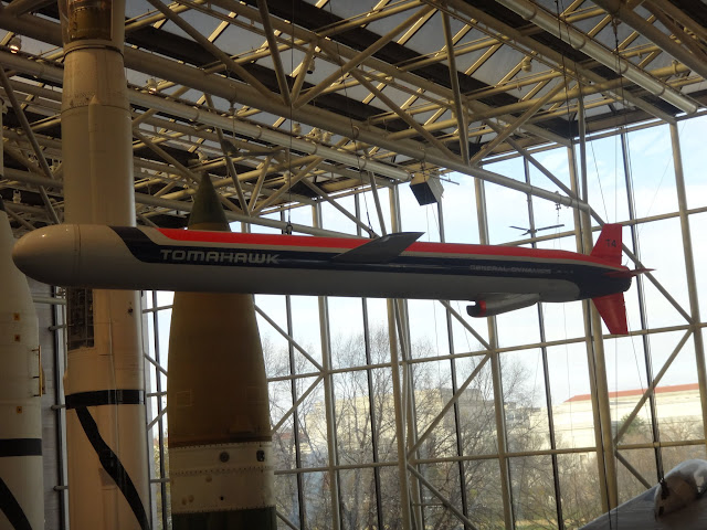 Tomahawk at Space and Air Museum in Washington DC, USA