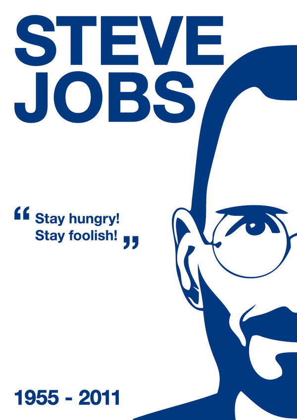marino 20 Awesome Graphical Tributes to Steve Jobs