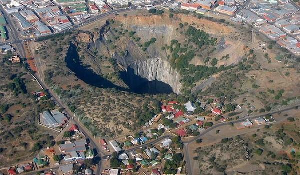 Gran agujero Kimberley, Sudáfrica