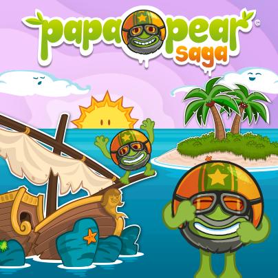 Facebook Papa Pear Saga Harika Hile