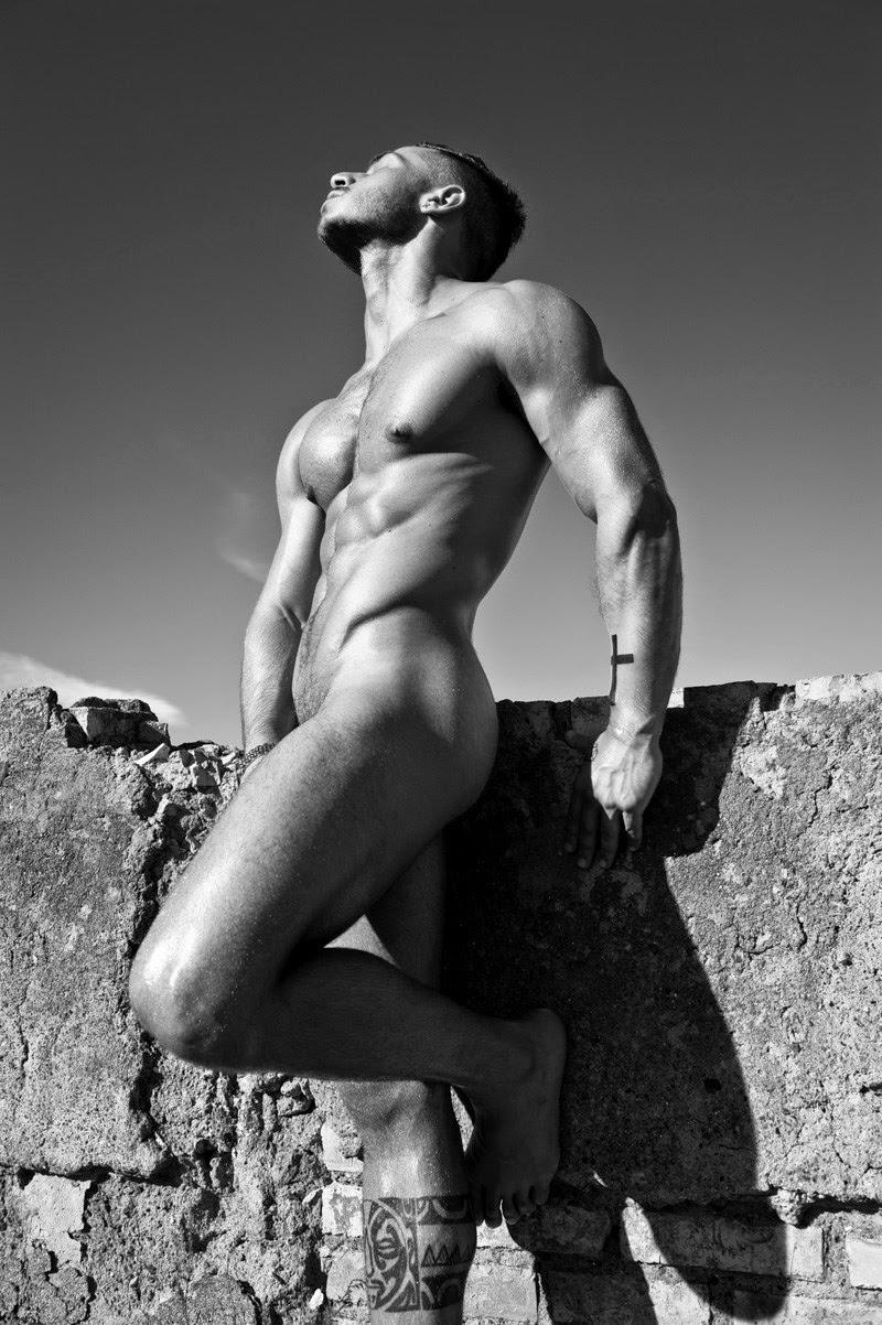 Paolo Bellucci nudo