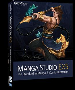 Download Manga Studio EX 5.0.4 + Keygen Full