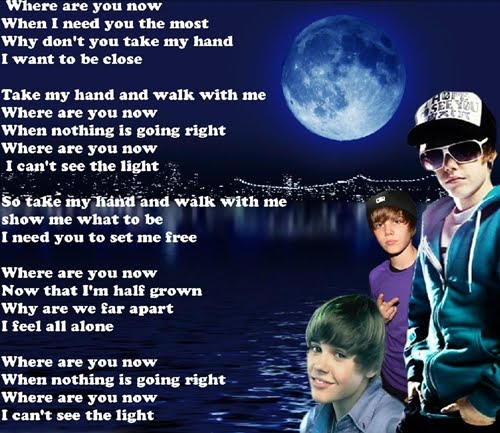 poem pics of justin bieber