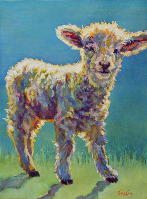 Daily painters abstract gallery for Abstract animal paintings
