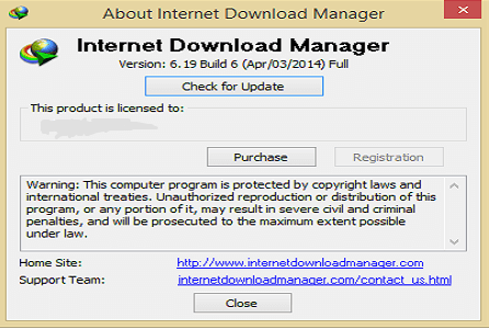 Internet Download Manager 6.19 Build 6 Full Version