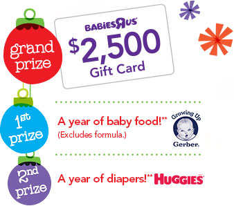 Toys r us babys first christmas sweepstakes