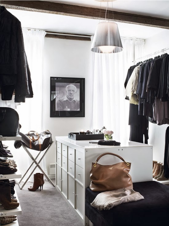 De vestidores, zapateros y curiosidades vintage · New and old dressing room inspiration