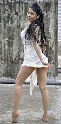 Nikita Rawal Hot Cleavage and Thigh Show in Wet