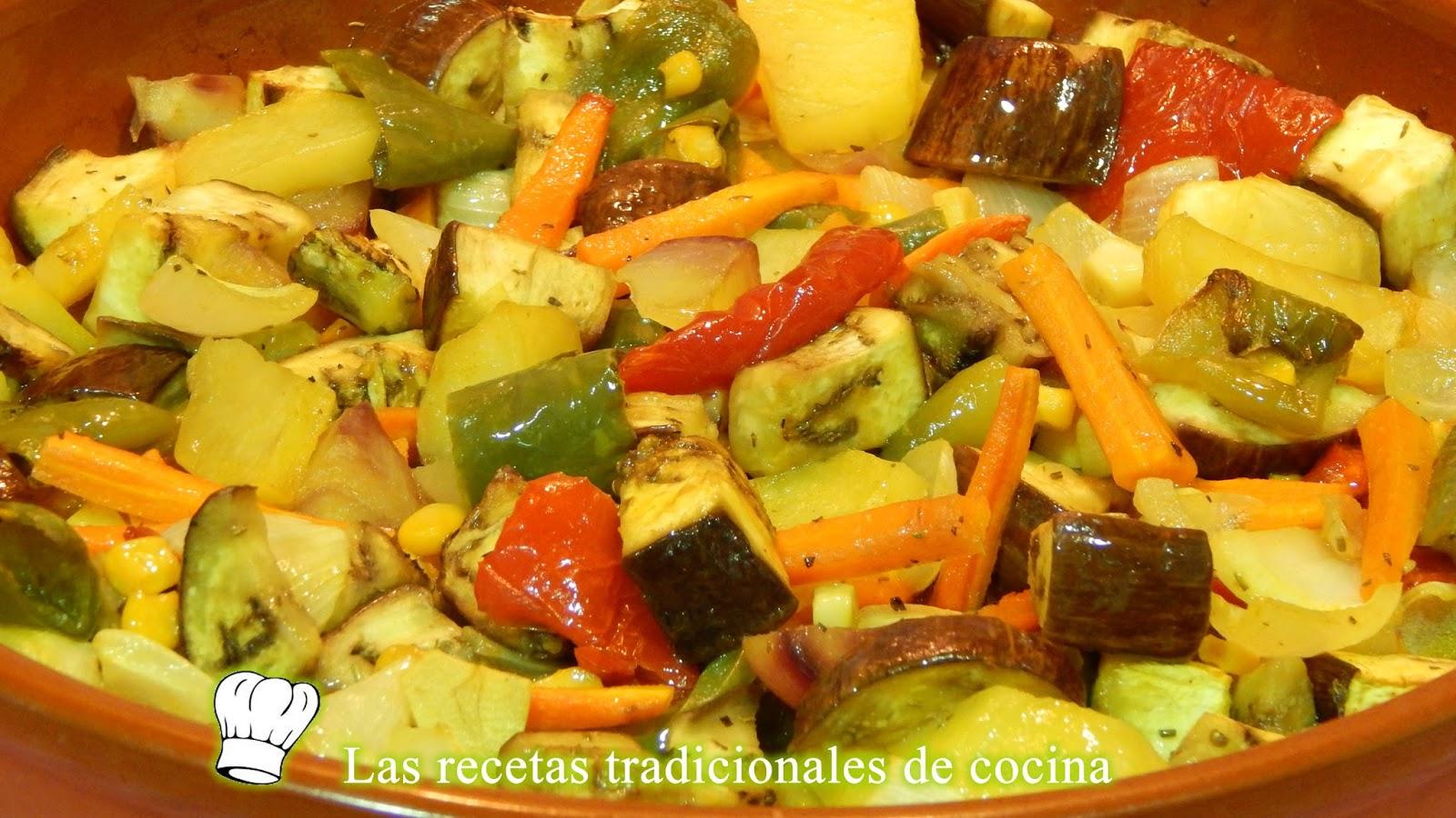 Receta de verduras al horno con especias recetas de - Recetas de bogavante al horno ...