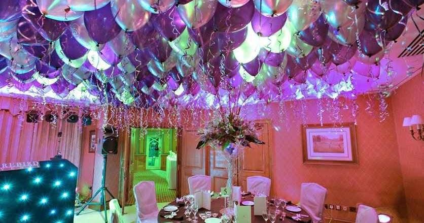 Decoracion de fiesta infantil con globos y girnaldas for Decoracion eventos infantiles