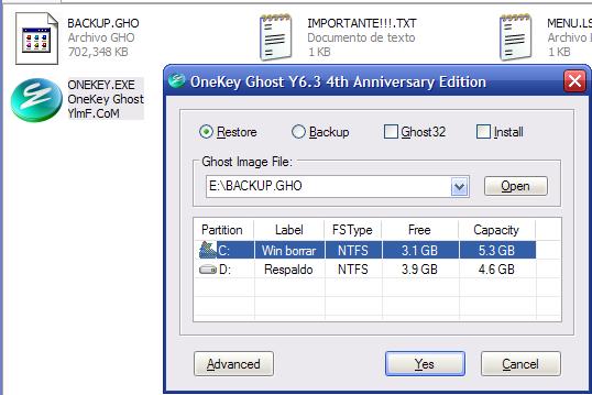 Clona y restaura tu sistema operativo en minutos con Onekey