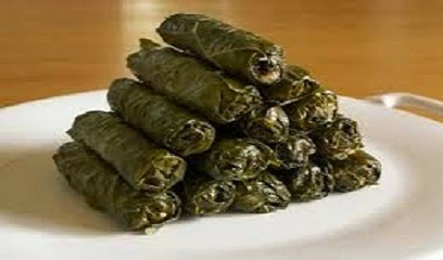 grape leaves stuffed