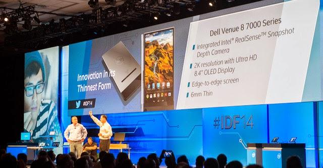 Tablet mỏng nhất thế giới của Dell