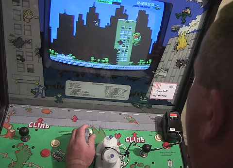 Custom One Handed Controller for Arcade Coin-op Machines by Ben Heck and John's Arcade.