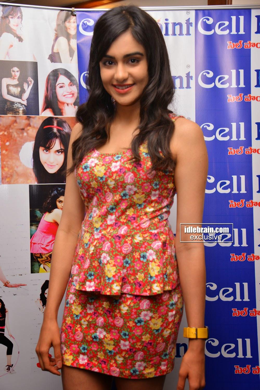 Telugu cinema actress Adah Sharma as brand ambassador for Cell Point