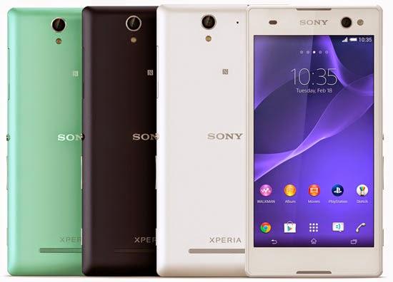 Spesifikasi dan Harga Sony Xperia C3 D2533