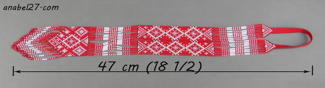 гердан из бисера славянские украшения