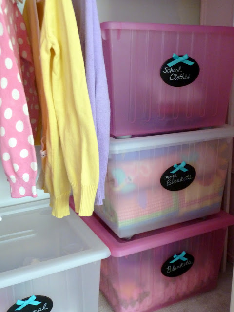 Back to School Organization - Choose Outfits Once a Week