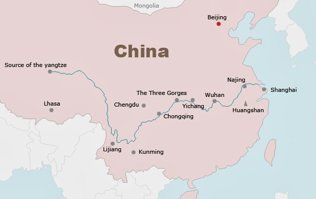 How Long Is The Yangtze River Ency - What is the third largest river in the world