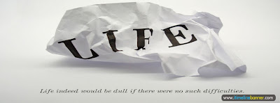 Life Quotes Facebook Timeline Cover