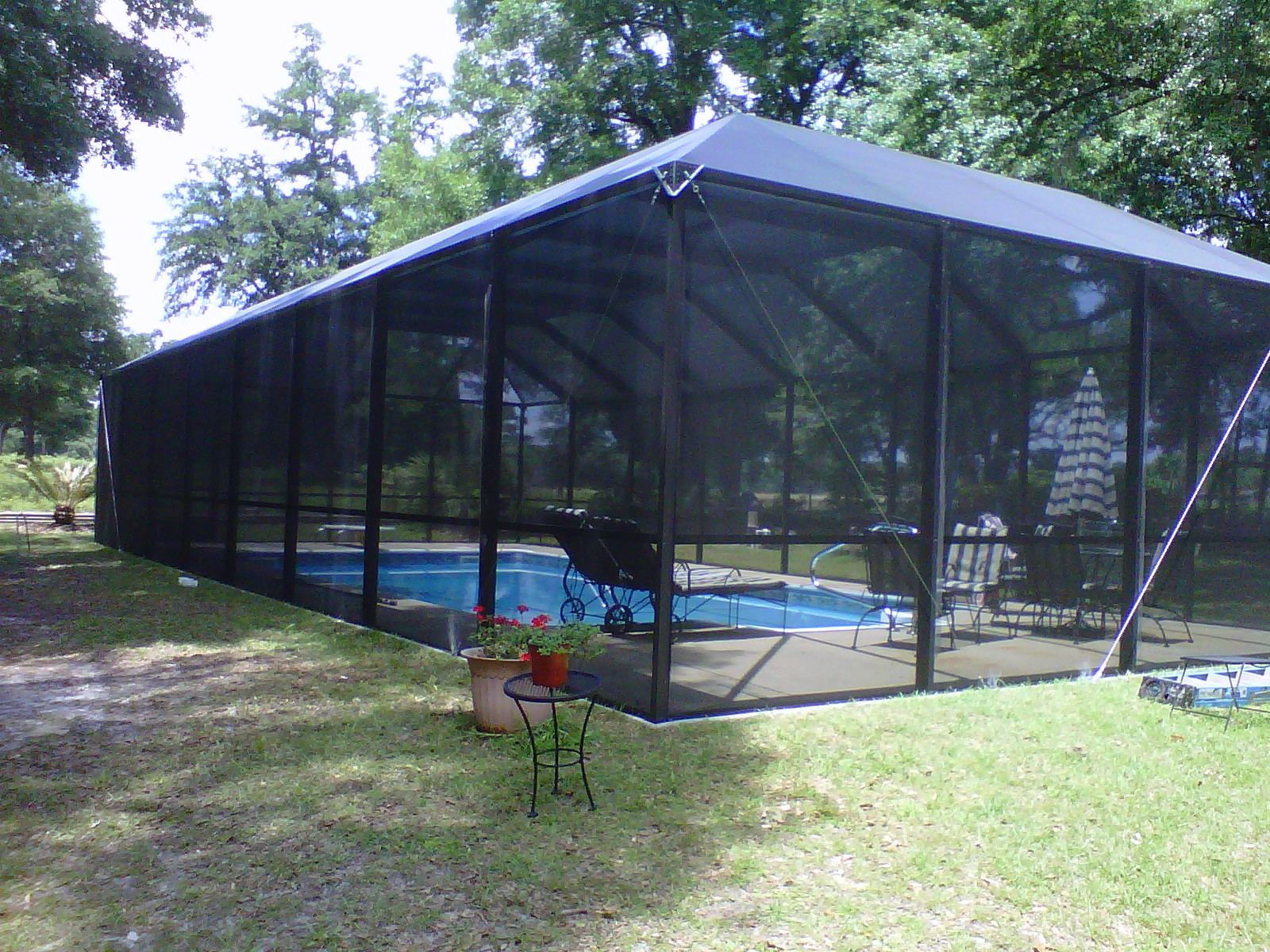 Pool Enclosures Usa Crawfordville Florida Pool Enclosure
