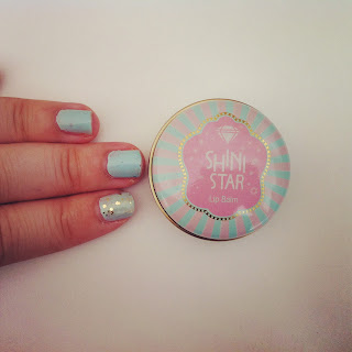 shini star lip balm taemin