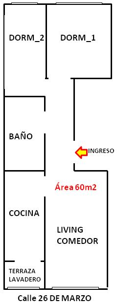 Alquilar apartamento 2 dormitorios