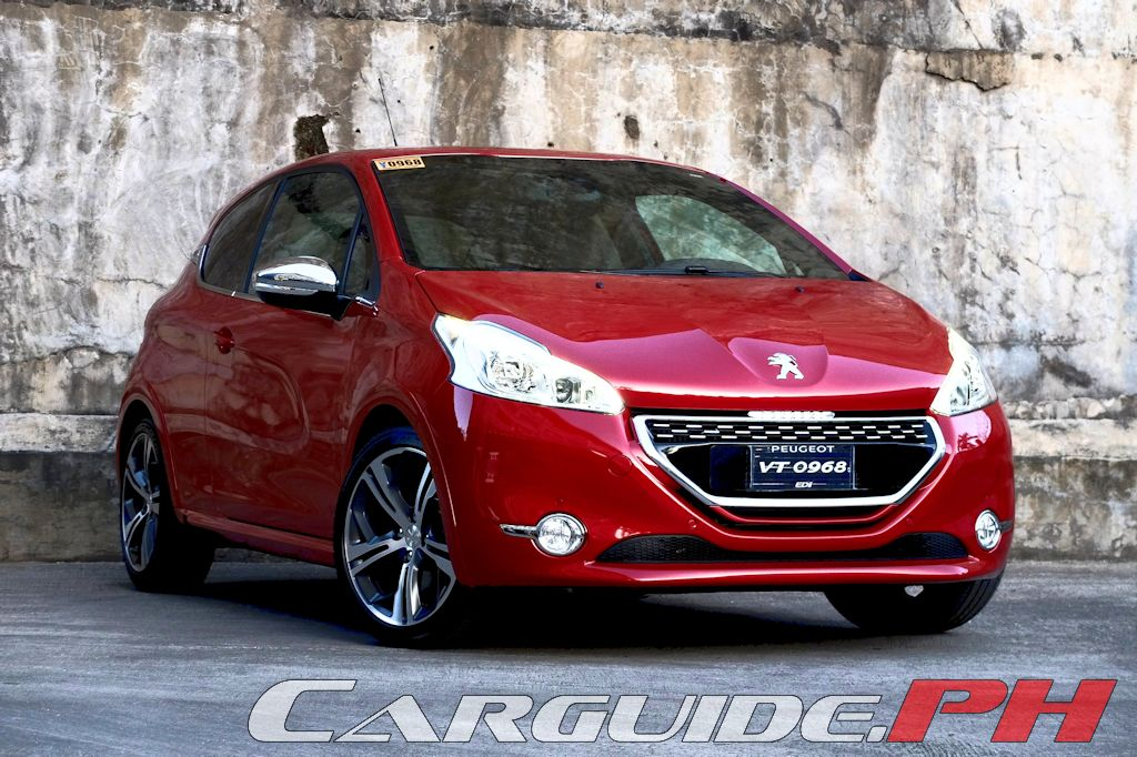 review 2015 peugeot 208 gti philippine car news car. Black Bedroom Furniture Sets. Home Design Ideas