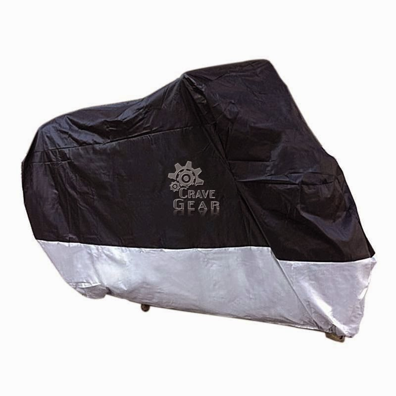 Outdoor Motorcycle Cover For Harley Sportster Dyna Softail Road Street Cruiser