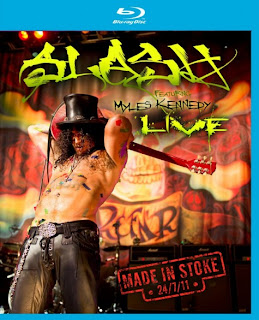 "Slash ""Made In Stoke 24/7/11″"