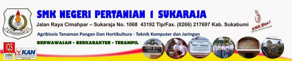 SMK Negeri Pertanian 1 Sukaraja