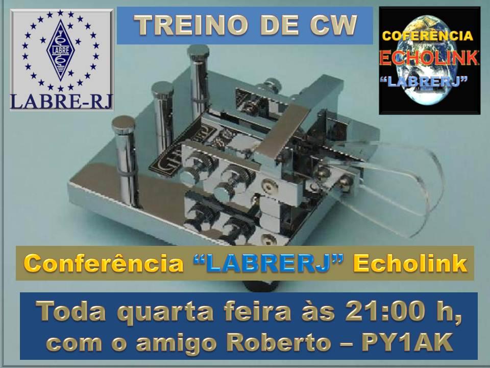 TREINO DE CW / LABRE-RJ