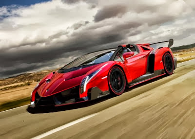 In Contrary With The Veneno Coupe That Only 4 Cars Were Build And Sold Last  Year, The New Roadster Model Will Begin With Only Nine Copies Reaching The  ...