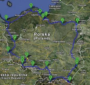 Dookoła Polski z Kubą i Kacprem - nasz nowy blog
