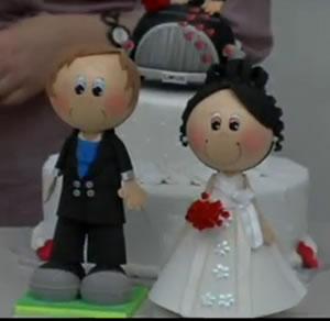 Todos lembram da linda Boneca fofucha noiva EVA 3D que postei AQU i