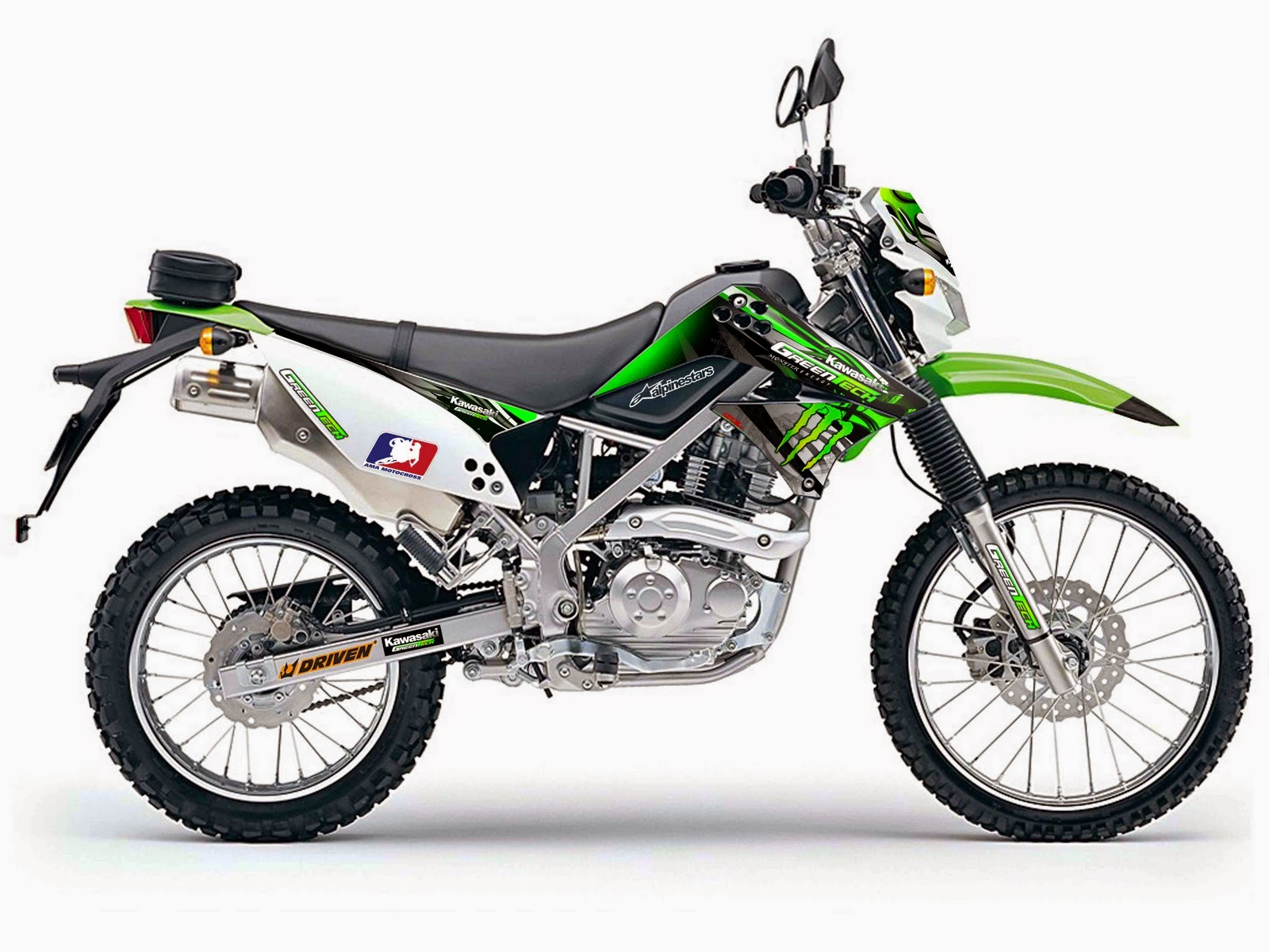 Modifikasi Motor Kawasaki klx