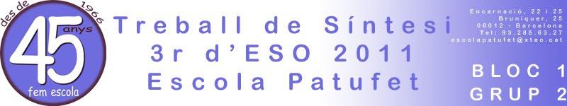 TS 3r d'ESO 1011 Bloc 1 - Grup 2