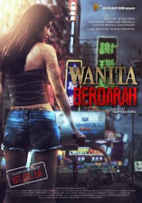 Poster Film Wanita Berdarah