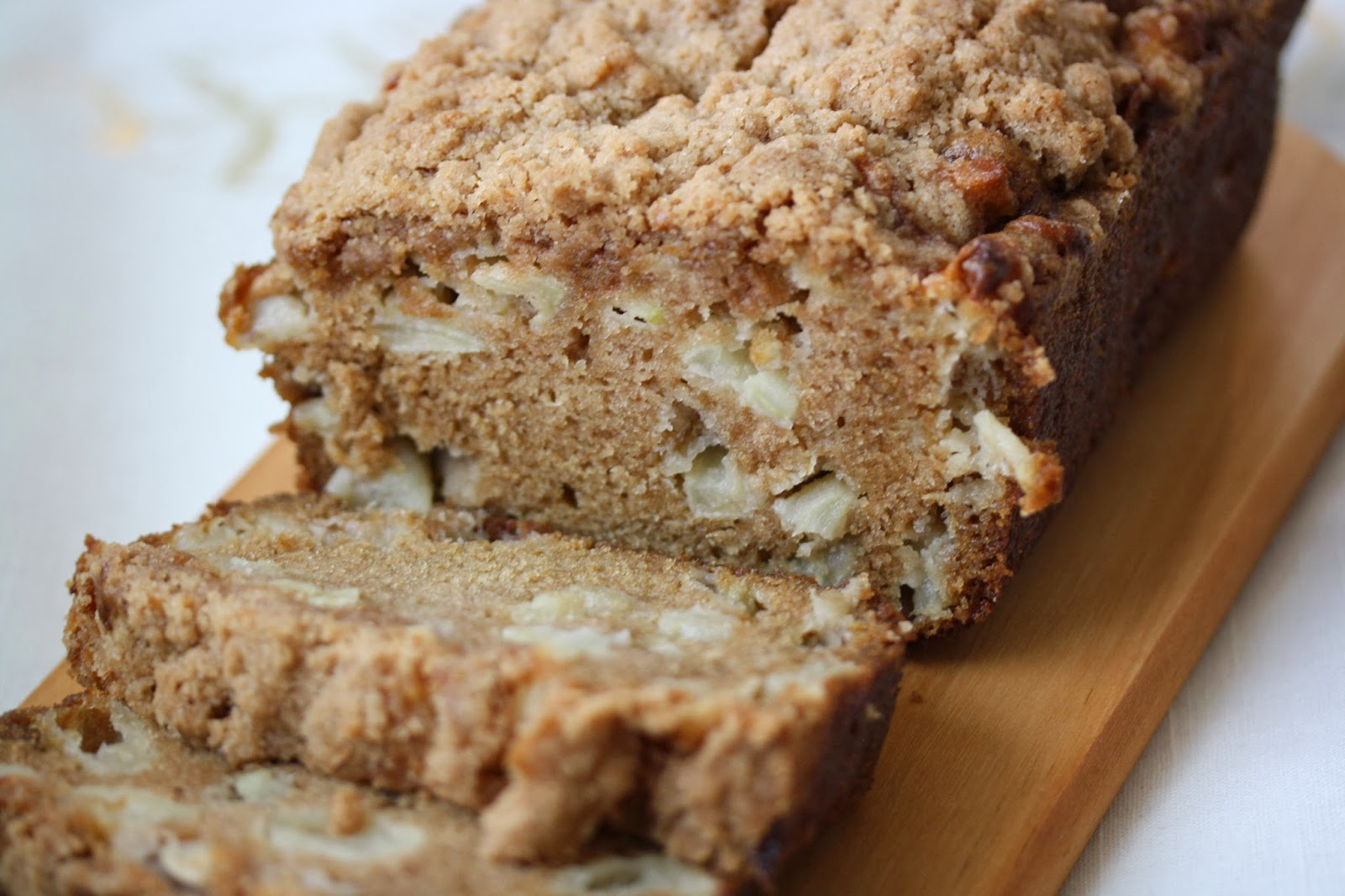 Hot Dinner Happy Home: Apple Cinnamon Bread