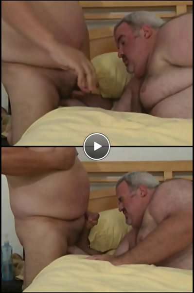 chubby fat men video